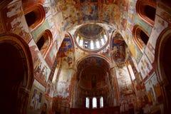Inside georgian orthodox Stock Images