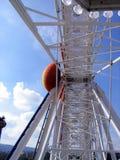 Inside giant wheel Stock Image