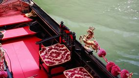 Inside Gondola. Inside A Gondola In Venice, Italy - HD Video stock video footage