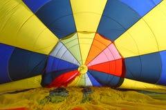 Inside gorące powietrze balon Zdjęcie Royalty Free