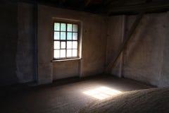 Inside the grain granary Stock Photography