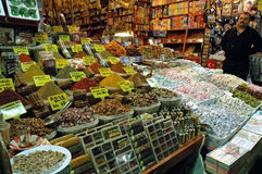 Inside in the Grand Bazaar, Istanbul Stock Photography
