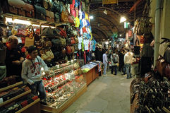 Inside in the Grand Bazaar, Istanbul Stock Photos