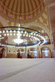 Inside of Grand Mosque in Bahrain stock photo