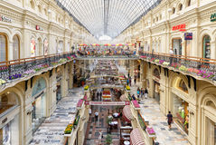 Inside the GUM (main department store) in Moscow Royalty Free Stock Image