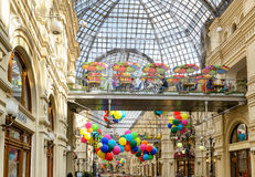 Inside the GUM (main department store) in Moscow Stock Images