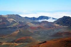 Inside Haleakala Crater Royalty Free Stock Photo