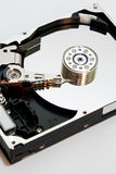 The inside of the hard disc Stock Photography