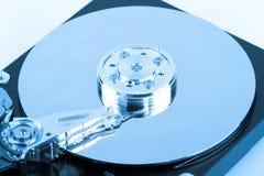 Inside of hard disk Stock Photos