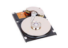Inside hard disk drive Stock Images