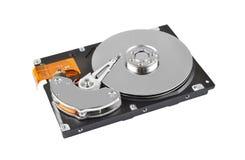 Inside hard disk drive Stock Images