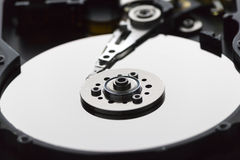 Inside Hard disk Royalty Free Stock Photography