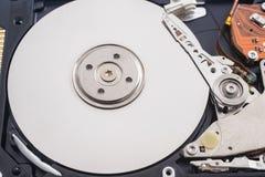 Inside hard disk Royalty Free Stock Images