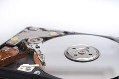 Inside hard disk Stock Images