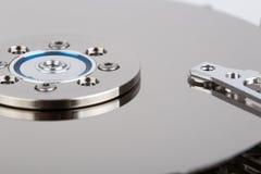 Inside of hard drive Stock Image
