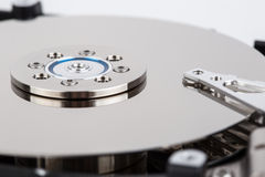 Inside of hard drive Stock Photography