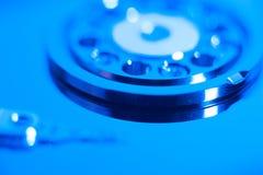 Inside hard drive Stock Image