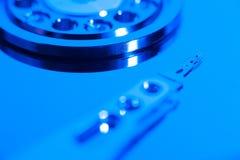 Inside hard drive Royalty Free Stock Photos
