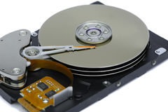 Inside of Harddisk Royalty Free Stock Photos