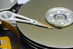 Inside of Harddisk Royalty Free Stock Image