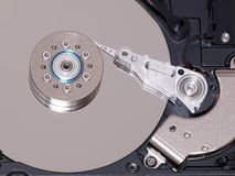 Inside harddisk Royalty Free Stock Images
