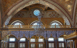 Inside of harem. Harem in Topkapi palace royalty free stock images