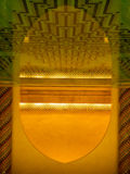 Inside of The Hassan II Mosque Royalty Free Stock Photo