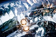 Inside of headlight Royalty Free Stock Photography