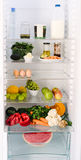 Inside the healthy person's fridge Royalty Free Stock Photography