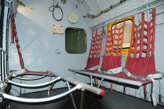 Inside Helicopter - Sikorsky HH - 19 B (S-55) Royalty Free Stock Photos