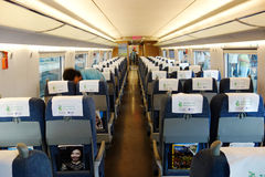 inside the high-speed rail Royalty Free Stock Photos