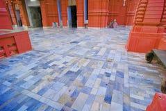 Inside Hindu Temple Stock Photo