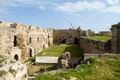 Courtyard on historic Othello Castle Stock Images