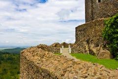 Inside Holloko Castle Stock Image