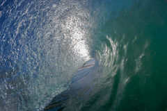 Inside Hollow Wave View Royalty Free Stock Photos