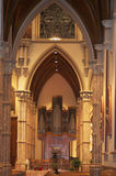 Inside Holy Name Cathedral Chicago, Illinois. Royalty Free Stock Photo