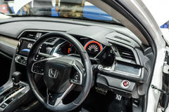 Inside of Honda The All New CIVIC Royalty Free Stock Image