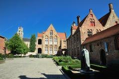 Inside the Hospital Sint-Jans in Brugge, Belgium Royalty Free Stock Image