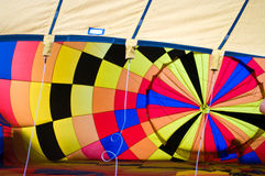 Inside the hot air balloon Royalty Free Stock Photography