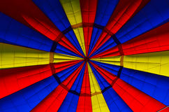 Inside a hot air balloon Royalty Free Stock Image