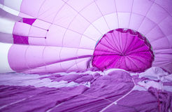 Inside of a hot air balloon Stock Photography