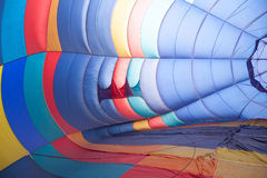 Inside of a hot air balloon Royalty Free Stock Photography