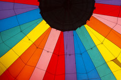 Inside Hot air balloon Royalty Free Stock Images
