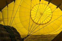 Inside a Hot Air Balloon Royalty Free Stock Photos