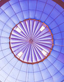 Inside a Hot Air Balloon. An up close view of the inside of a hot air balloon stock photos