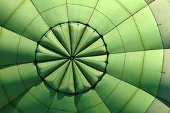 Inside hot air balloon Stock Image