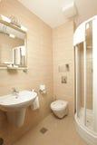 Luxury marble bathroom Stock Images