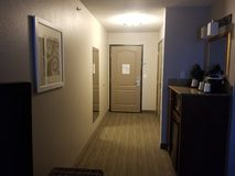 Inside hotel room stock photos