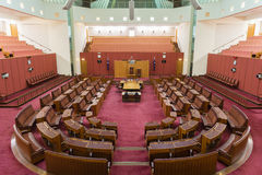 Inside of the House Representatives, Parliament Stock Photography