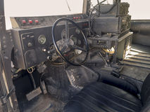 Inside the Humvee Stock Photography